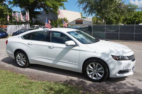 2017 Chevrolet Impala for sale in Hollywood, FL