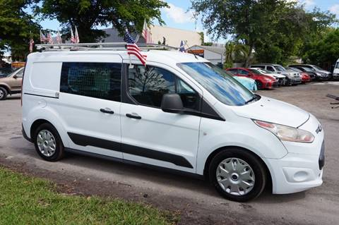 2014 Ford Transit Connect Cargo for sale in Hollywood, FL