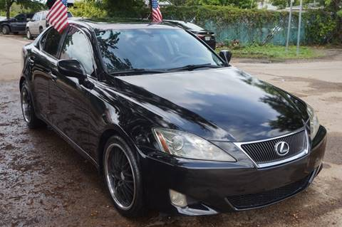 2006 Lexus IS 250 for sale at SUPER DEAL MOTORS in Hollywood FL