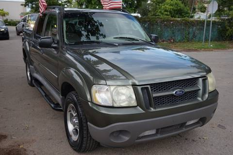 2003 Ford Explorer Sport Trac for sale in Hollywood, FL