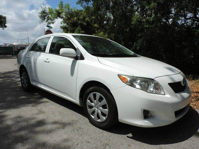 2010 TOYOTA COROLLA LE 4DR SEDAN 4A white  call 866-378-7964 for sales  this 2010 toyota co