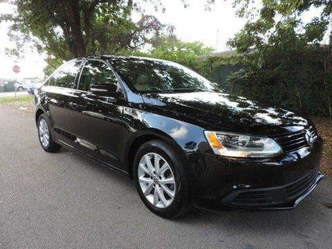 2012 Volkswagen Jetta for sale at SUPER DEAL MOTORS in Hollywood FL