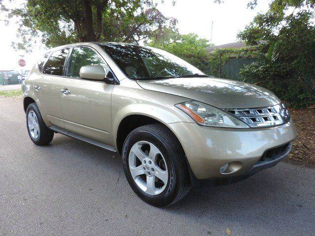 2005 NISSAN MURANO SL 4DR SUV gold  call 866-378-7964 for sales  this 2005 nissan murano sl