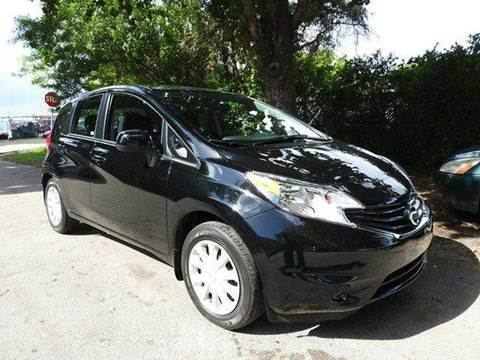2014 Nissan Versa Note for sale at SUPER DEAL MOTORS in Hollywood FL