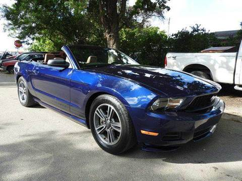 2011 Ford Mustang for sale at SUPER DEAL MOTORS in Hollywood FL