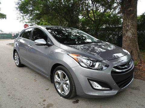 2014 Hyundai Elantra GT for sale at SUPER DEAL MOTORS in Hollywood FL