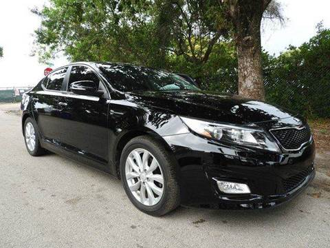 2014 Kia Optima for sale at SUPER DEAL MOTORS in Hollywood FL