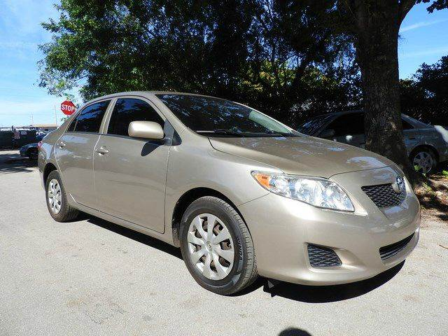 2009 TOYOTA COROLLA LE 4DR SEDAN 4A gold  call 866-378-7964 for sales  this 2009 toyota cor