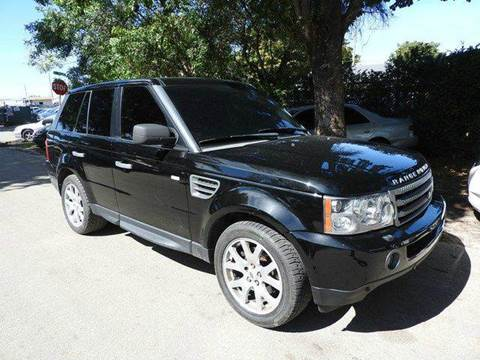 2009 Land Rover Range Rover Sport for sale at SUPER DEAL MOTORS in Hollywood FL