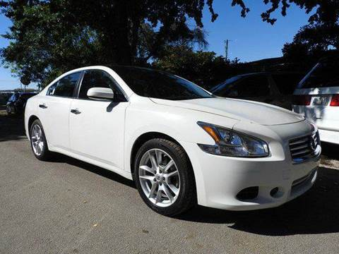 2013 Nissan Maxima for sale at SUPER DEAL MOTORS in Hollywood FL