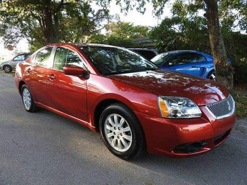 2012 Mitsubishi Galant for sale at SUPER DEAL MOTORS in Hollywood FL
