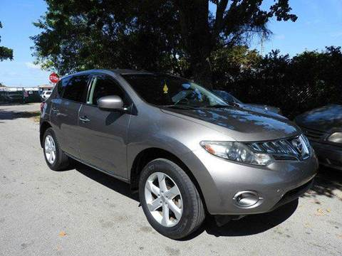 2010 Nissan Murano for sale at SUPER DEAL MOTORS in Hollywood FL