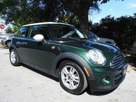 2011 MINI Cooper for sale at SUPER DEAL MOTORS in Hollywood FL
