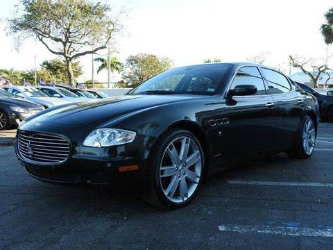 2005 Maserati Quattroporte for sale at SUPER DEAL MOTORS in Hollywood FL