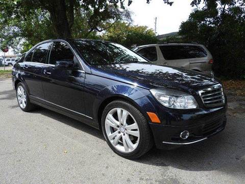 2010 Mercedes-Benz C-Class for sale at SUPER DEAL MOTORS in Hollywood FL