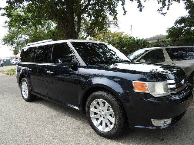 2009 FORD FLEX SEL CROSSOVER 4DR blue  call 866-378-7964 for sales  this 2009 ford flex sel