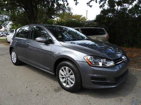 2015 Volkswagen Golf for sale at SUPER DEAL MOTORS in Hollywood FL
