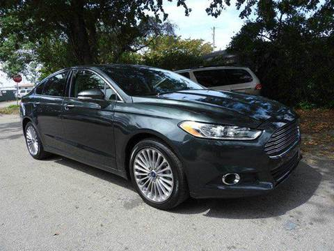 2015 Ford Fusion for sale at SUPER DEAL MOTORS in Hollywood FL
