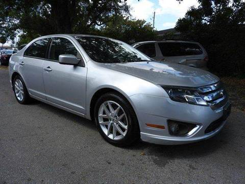 2011 Ford Fusion for sale at SUPER DEAL MOTORS in Hollywood FL