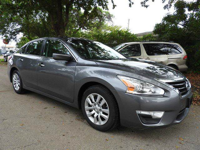 2015 NISSAN ALTIMA 25 S 4DR SEDAN gray  call 866-378-7964 for sales  this 2015 nissan alti