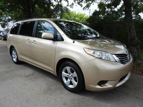 2011 Toyota Sienna for sale at SUPER DEAL MOTORS in Hollywood FL