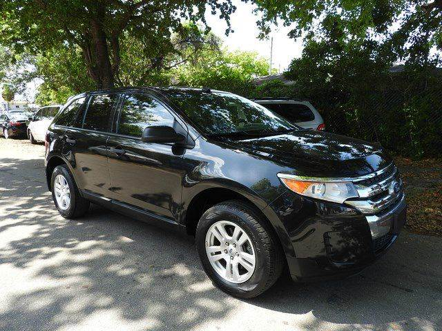 2012 FORD EDGE SE 4DR SUV black  call 866-378-7964 for sales  this 2012 ford edge se 4dr su