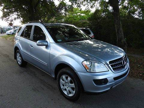 2007 Mercedes-Benz M-Class for sale at SUPER DEAL MOTORS in Hollywood FL