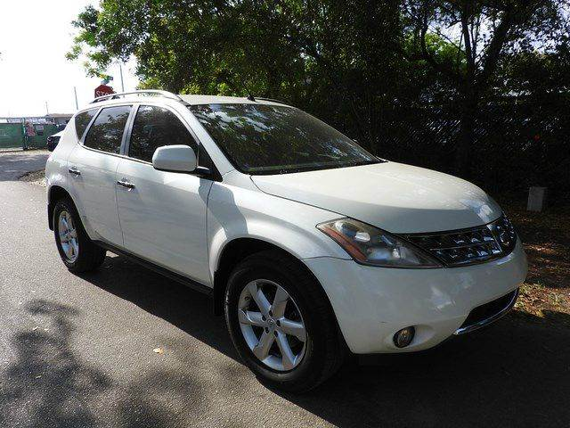 2007 NISSAN MURANO S AWD 4DR SUV white  call 866-378-7964 for sales  this 2007 nissan muran