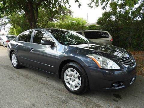 2011 Nissan Altima for sale at SUPER DEAL MOTORS in Hollywood FL