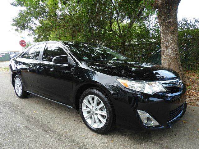 2012 TOYOTA CAMRY XLE V6 4DR SEDAN black  call 866-378-7964 for sales  this 2012 toyota cam