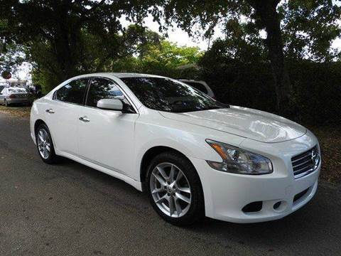 2011 Nissan Maxima for sale at SUPER DEAL MOTORS in Hollywood FL