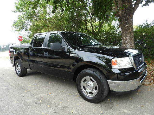 2007 FORD F-150 XLT 4DR SUPERCREW STYLESIDE 65 black  call 866-378-7964 for sales  this 20
