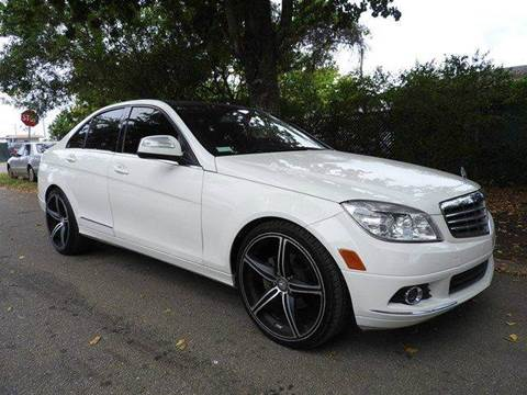 2009 Mercedes-Benz C-Class for sale at SUPER DEAL MOTORS in Hollywood FL