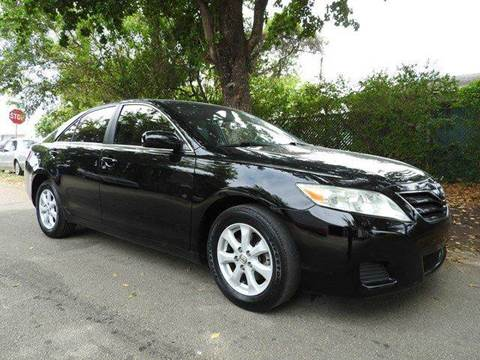 2010 Toyota Camry for sale at SUPER DEAL MOTORS in Hollywood FL