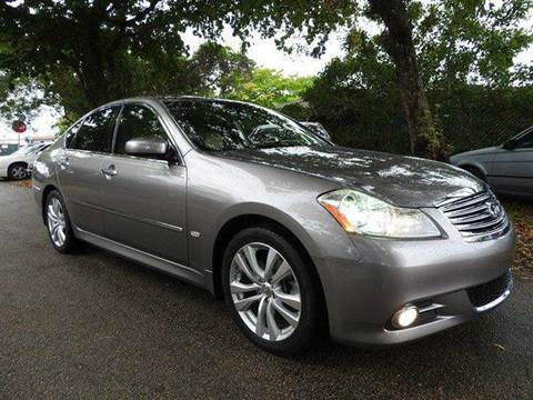 2009 Infiniti M35 for sale at SUPER DEAL MOTORS in Hollywood FL