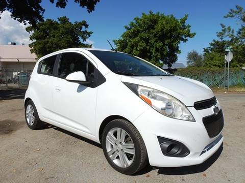 2014 Chevrolet Spark for sale at SUPER DEAL MOTORS 441 in Hollywood FL