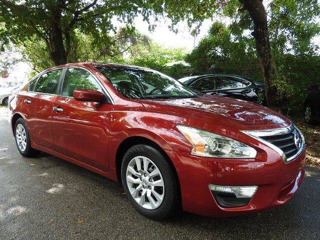 2015 NISSAN ALTIMA 25 S 4DR SEDAN red  call 866-378-7964 for sales  this 2015 nissan altim