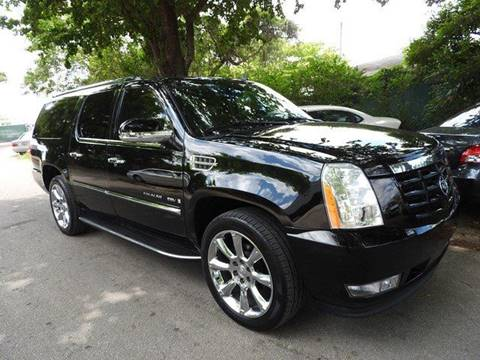 2009 Cadillac Escalade ESV for sale at SUPER DEAL MOTORS in Hollywood FL