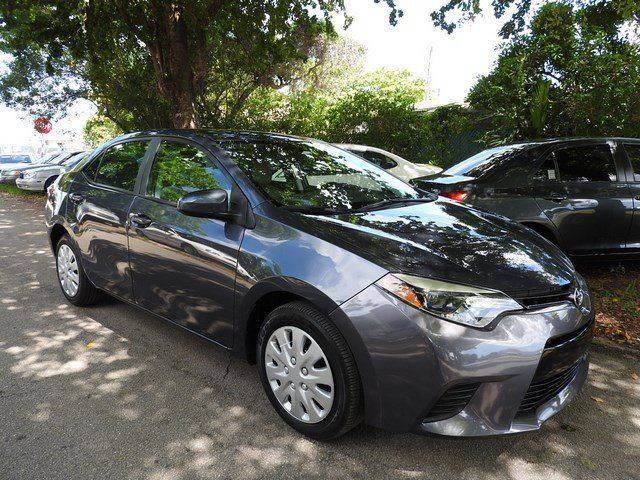 2015 TOYOTA COROLLA LE 4DR SEDAN charcoal  call 866-378-7964 for sales  this 2015 toyota co