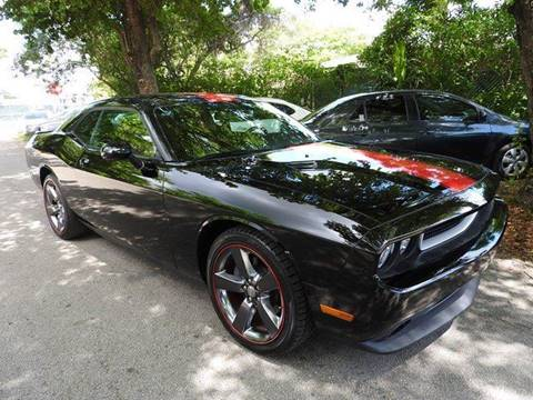 2013 Dodge Challenger for sale at SUPER DEAL MOTORS in Hollywood FL