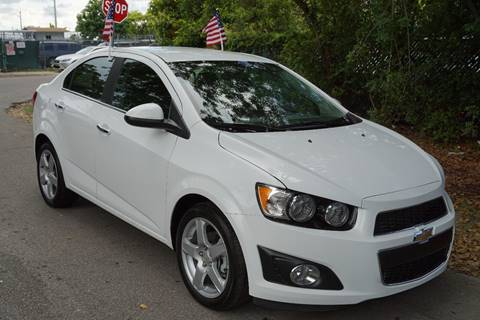 2016 Chevrolet Sonic for sale at SUPER DEAL MOTORS in Hollywood FL