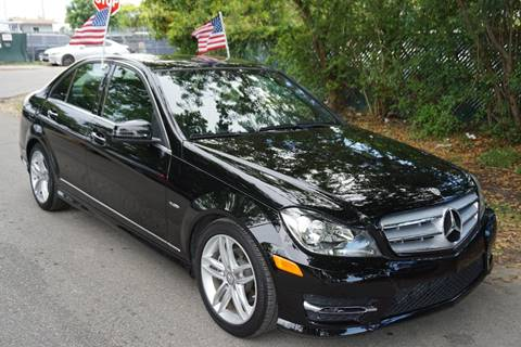 2012 Mercedes-Benz C-Class for sale at SUPER DEAL MOTORS in Hollywood FL