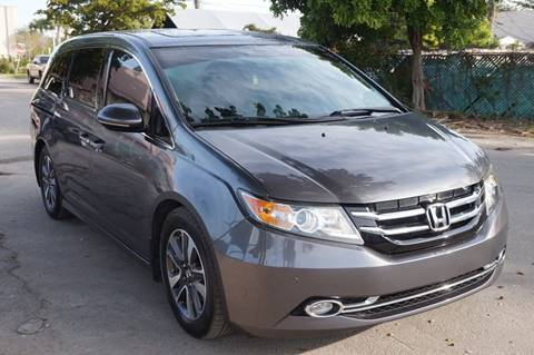 2014 Honda Odyssey for sale at SUPER DEAL MOTORS in Hollywood FL