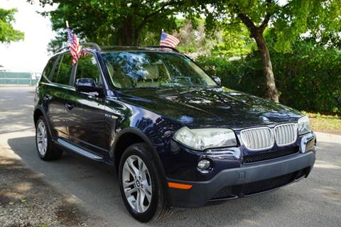 2007 BMW X3 for sale at SUPER DEAL MOTORS in Hollywood FL