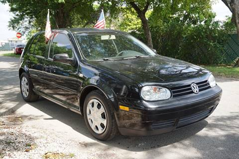 2003 Volkswagen Golf for sale at SUPER DEAL MOTORS in Hollywood FL
