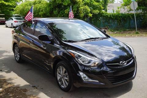 2014 Hyundai Elantra for sale at SUPER DEAL MOTORS in Hollywood FL
