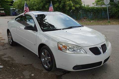 2006 Pontiac G6 for sale at SUPER DEAL MOTORS in Hollywood FL