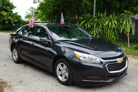 2016 Chevrolet Malibu Limited for sale at SUPER DEAL MOTORS in Hollywood FL