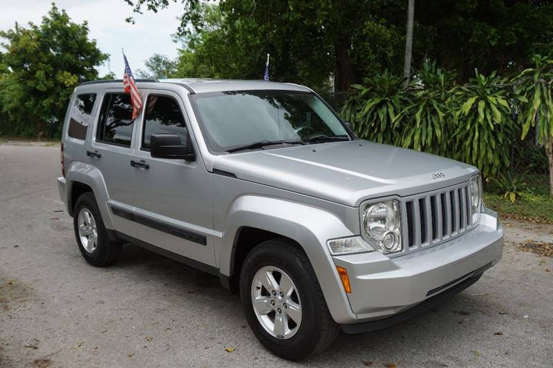2012 JEEP LIBERTY LATITUDE 4X2 4DR SUV silver  call 866-378-7964 for sales  this 2012 jeep