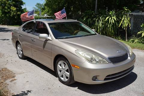 2005 Lexus ES 330 for sale at SUPER DEAL MOTORS in Hollywood FL